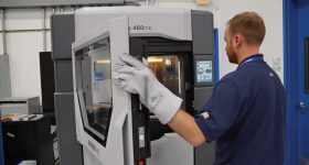 Stratasys has announced a new ProtectAM cybersecurity solution for additive manufacturing to meet the demanding requirements of U.S. government implementations. Photo via Stratasys.
