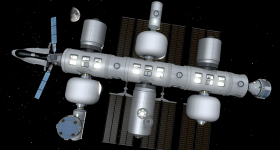 The upcoming Orbital Reef commercial space station.