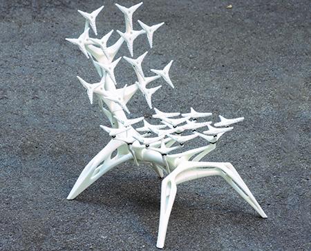 Altair Engineering's 'BushBot-Chair.' Photo via purmundus challenge.