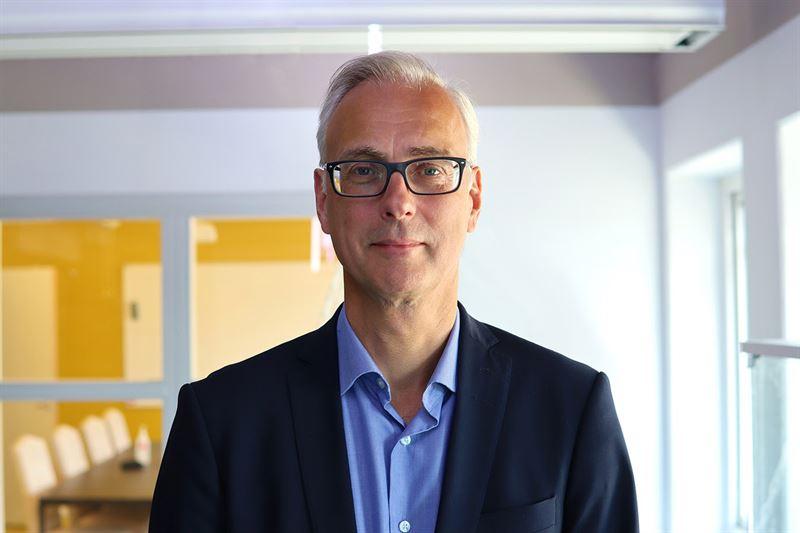 Wematter's new CFO Henrik Kennås.