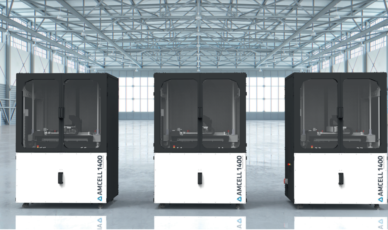 Triditive's Amcell 1400 3D printer. Photo via Triditive.